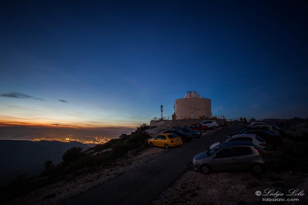 Split observatory