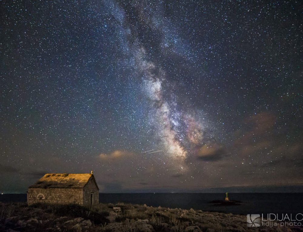 Milky way above Cape Planka