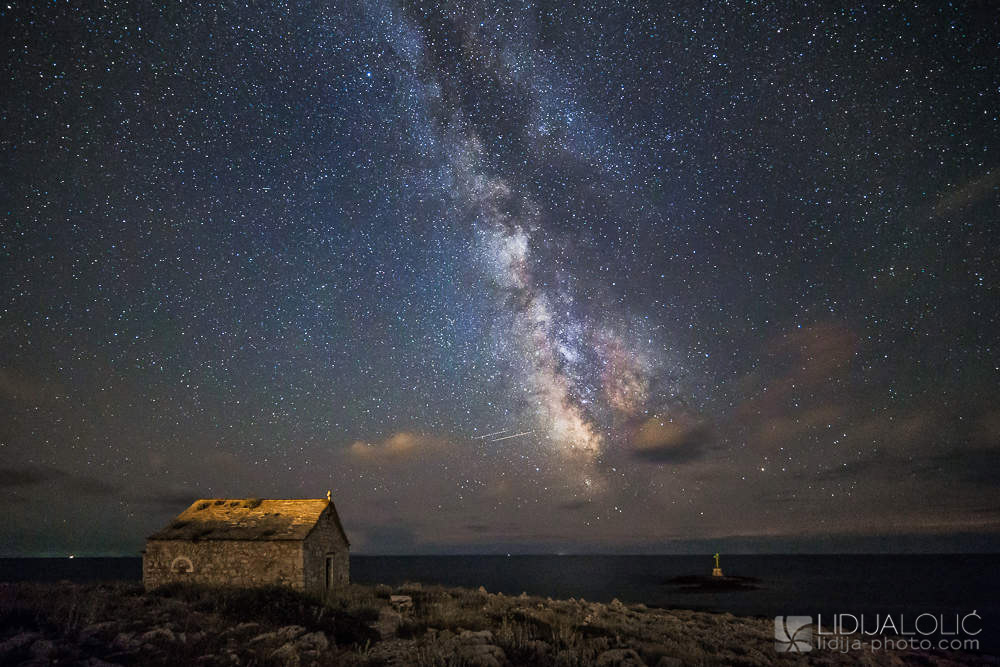 Milky way above Cape Planka