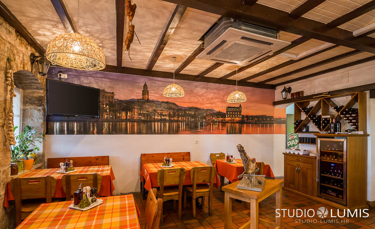 restaurant interior photography