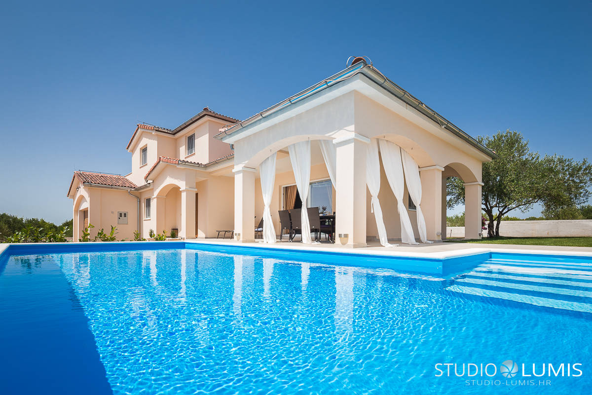 vacation rental villa interior photographer split croatia