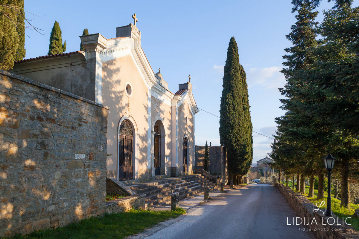 Cemetery in Groznjan
