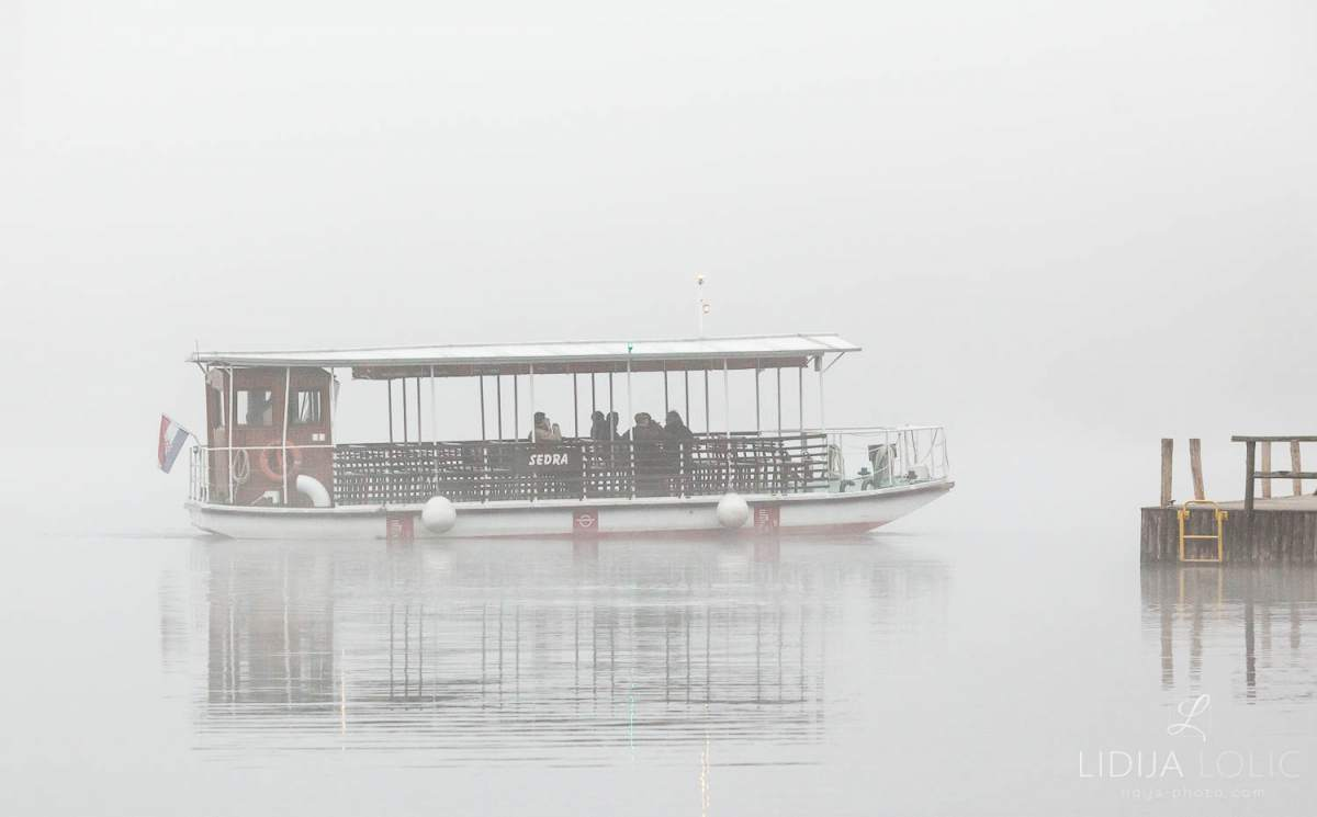 Magla na Plitvičkim jezerima