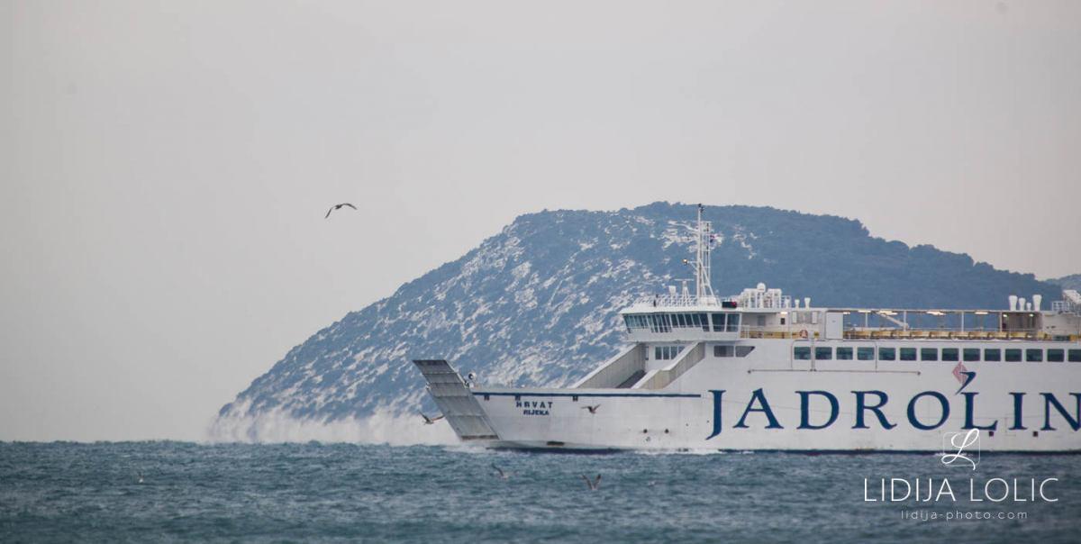 Snow in Split