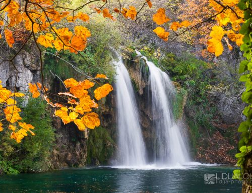 Autumn colors of Kamacnik, Zeleni Vir and Plitvice lakes